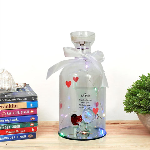 The Glass Bottle Message Jar - Deliver Your Letter with a Message Bottle - Giftii