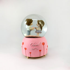 Eternal with You - Romantic Musical Snow Ball Gift for Couple