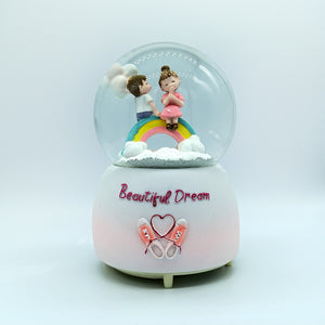 Beautiful Dream - Romantic Musical Snow Ball Gift for Couple