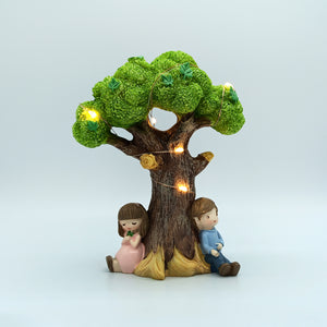 Cute Couple Sitting Under Tree | Valentine's Gift for Couple