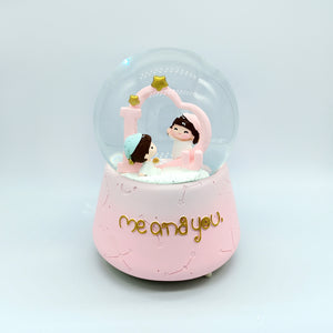 Me and You | Cute Musical Crystal Snow Ball