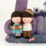Musical Windmill: Lovely Couple Living Room Decoration Gift