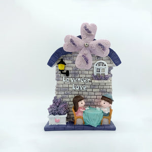 Lavender Love, Musical Windmill - Gift for Couple/Lovers