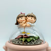 Cute Couple Miniature on Rice Cooker: Unique Funny Gift for Couple