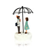 Lovers Under Umbrella: Decorative Showpiece Gift for Couple