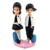 Cute Lovers Together: Cute Lovers on a ❤, Gift for Couple