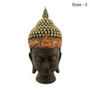 Surreal Buddha Head Statue | Gold,White,Black