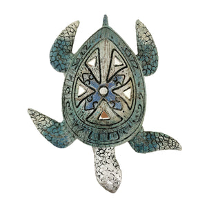 Antique finish turtle figurine | Auspicious home décor