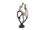 Lovely Polyresin Couple Figurine