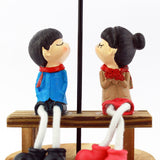 Wooden Music Box Gift for Couple: Decorative Gift for Lovers