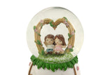 Cute Lovers Musical Crystal Ball with LEDs