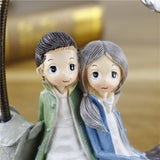 Cute Couple Sitting Together: Perfect Gift for Couple