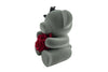 Cute Grey Teddy Bear Gift for Lovers