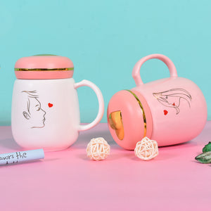 Couple Mugs | L❤VE Themed Coffee Mugs for Couple