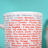"Multi Languages Written ""I Love You"" Meaning Mug - Gift for Special One"