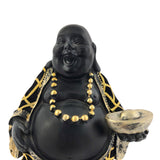 Laughing Buddha with Intricate Designs