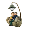 Cute couple Sitting Together: Premium Polyresin Showpiece for Couple