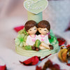 Young Lovers Together: Decorative Glowing Lamp