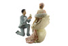 Male Purposing Lovely Couple Figurine - Anniversary/Wedding/Engagement Gift