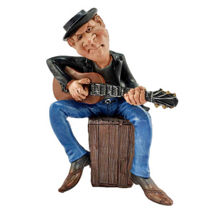 The cow boy guitarist | Cute miniature