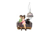 Beautiful Couple Sitting Together: Lovely Decorative Gift for Couple