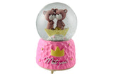 Lovely Teddies Together, Musical Snow ball Gift for Couples