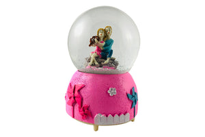 Cute Lovers Snowball Gift for Couple