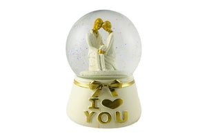 I Love You Snow Dome: Gift for Couple
