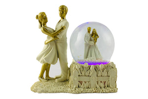 Loving Couple Standing Together: Decorative Gift for Couples