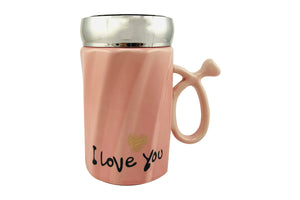 I Love You Printed Coffee Mug: Premium Ceramic Coffee Mug