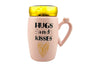 Hugs & Kisses | Take my Heart Coffee Mug for Lovers
