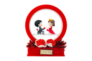 Cute Boy Purposing Girl | Decorative Gift for Couple