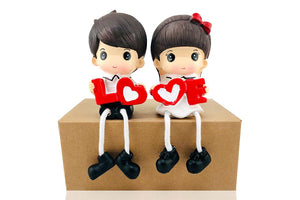 💑Cute Lovers Together: Decorative Gift for Lovers