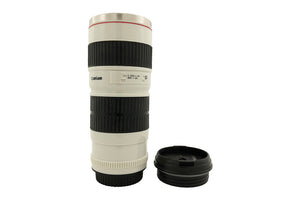 Large Camera Lens Shape Thermos Mug - Gift for Corporates