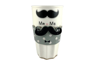 Cool Moustache Man Mug for Him - Perfect Gift for Couple