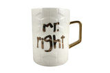 Mr Right, Mrs Always right - Coffee Mug Gift for Lovers
