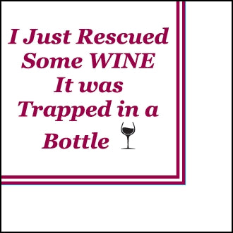 61745- Rescued Wine