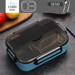 Eco-Friendly Lunch Box With Compartments