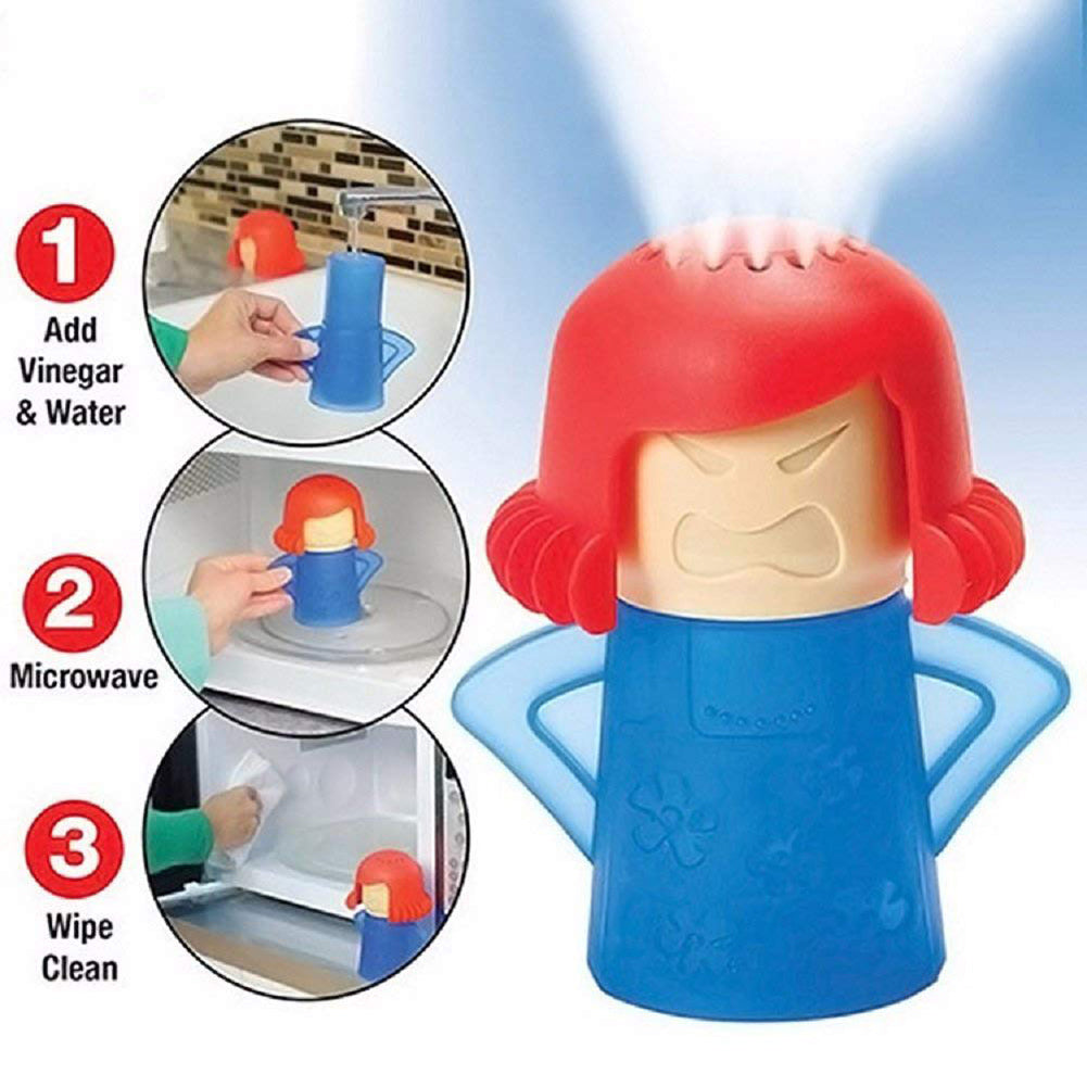 Microwave Cleaner - The Angry Mama