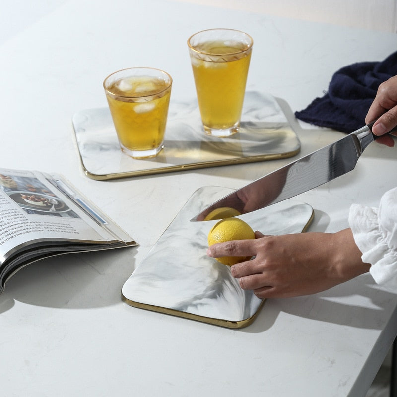 Ceramic Marble Chopping Board