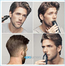 Braun Mgk3040 Multigrooming Kit 7 In 1 Rasoio Da Barba Elettrico Con Gillette Body