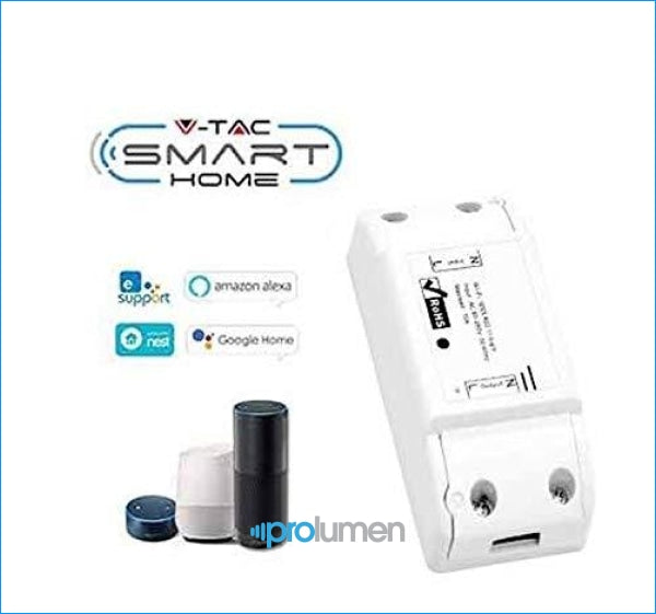 V-Tac Smart Vt-5008 Interruttore Wi-Fi - Sku 8422