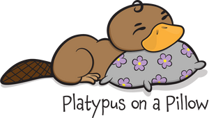 Platypus on a Pillow