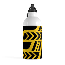 Load image into Gallery viewer, Stainless Steel Water Bottle (Black & Yellow)