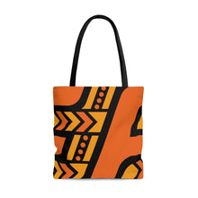 Load image into Gallery viewer, Tote Bag (Orange & Black)