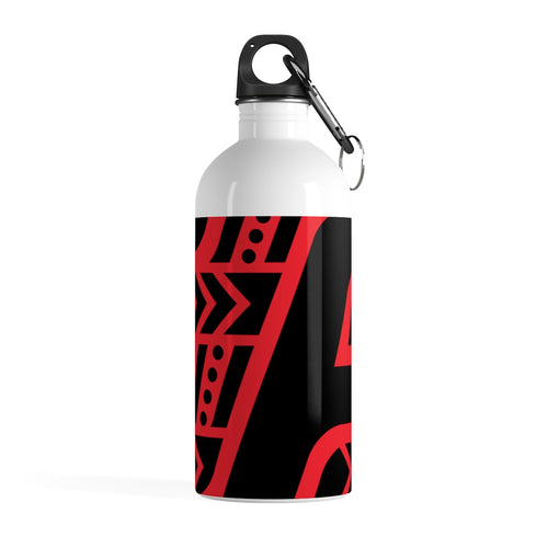 Stainless Steel Water Bottle (Black & Red)