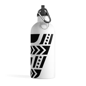 Fit Tribe Water Bottle (White/Black)