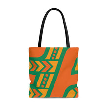 Load image into Gallery viewer, Tote Bag (Orange & Green)