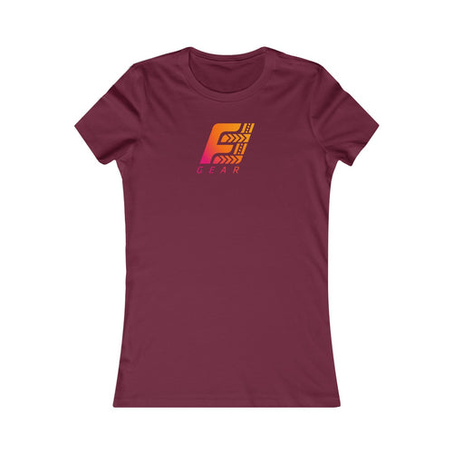 Crew Neck T-shirt (Maroon)