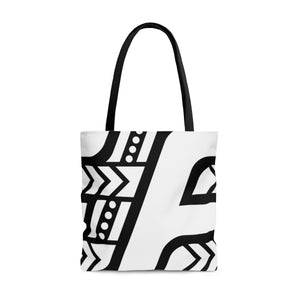 Tote Bag (White & Black)